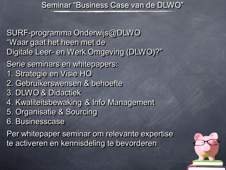 Seminar Business Case van de DLWO