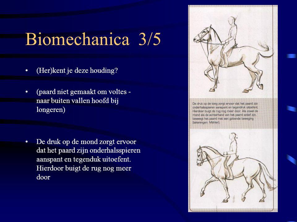 Biomechanica 3/5 (Her)kent je deze houding