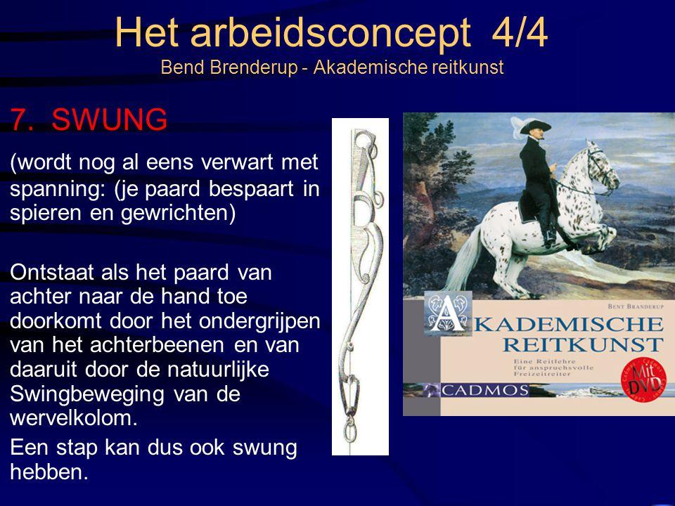 Het arbeidsconcept 4/4 Bend Brenderup - Akademische reitkunst