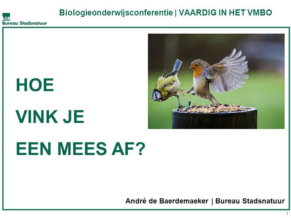 Biologieonderwijsconferentie | VAARDIG IN HET VMBO