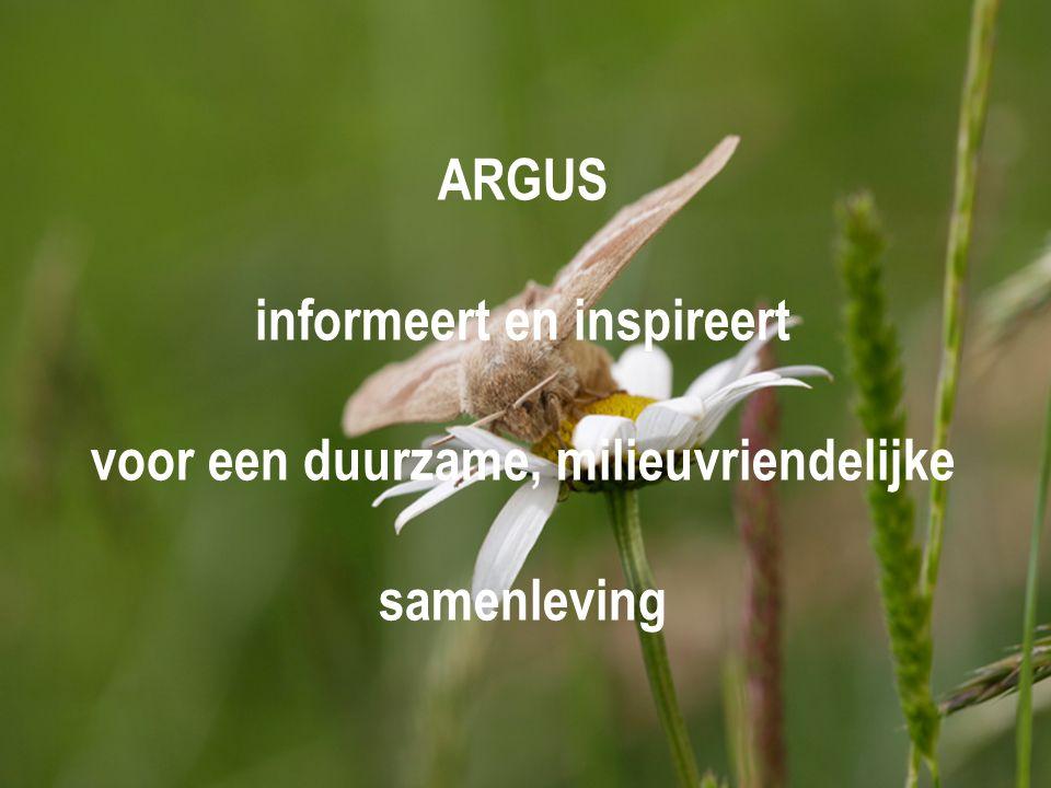 informeert en inspireert voor een duurzame, milieuvriendelijke