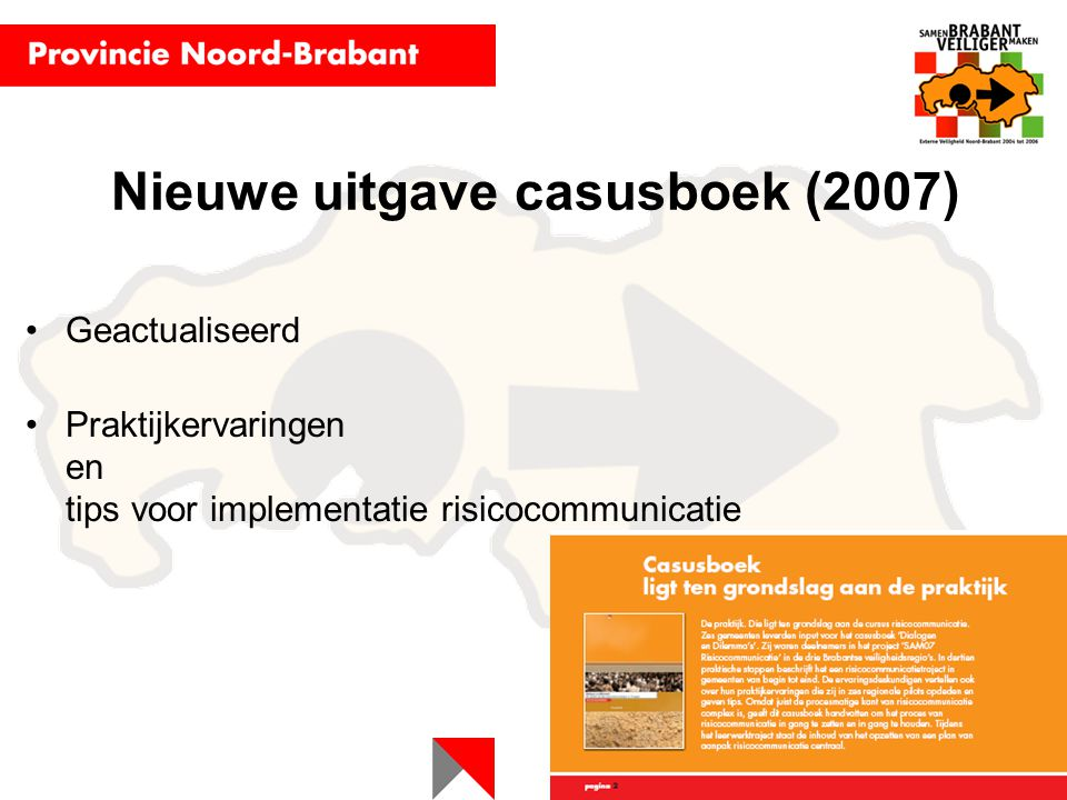 Nieuwe uitgave casusboek (2007)