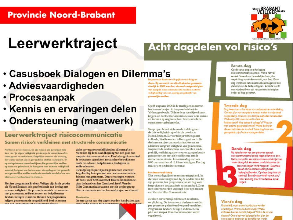 Leerwerktraject Casusboek Dialogen en Dilemma's Adviesvaardigheden