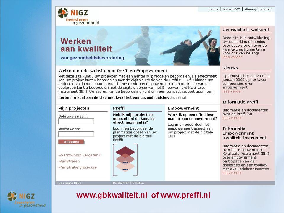 www.gbkwaliteit.nl of www.preffi.nl
