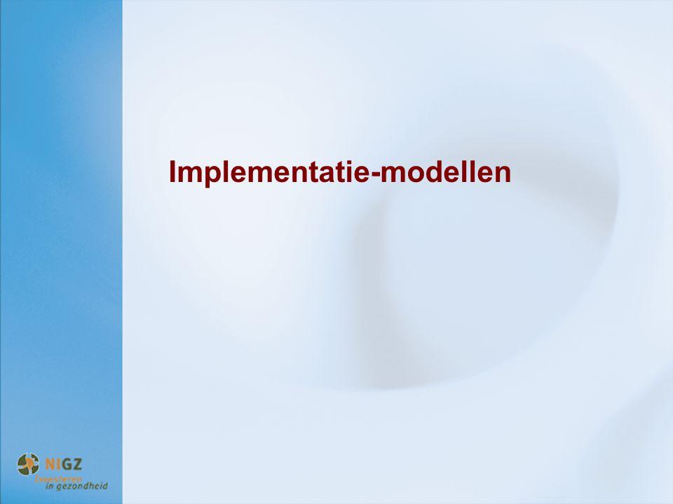 Implementatie-modellen