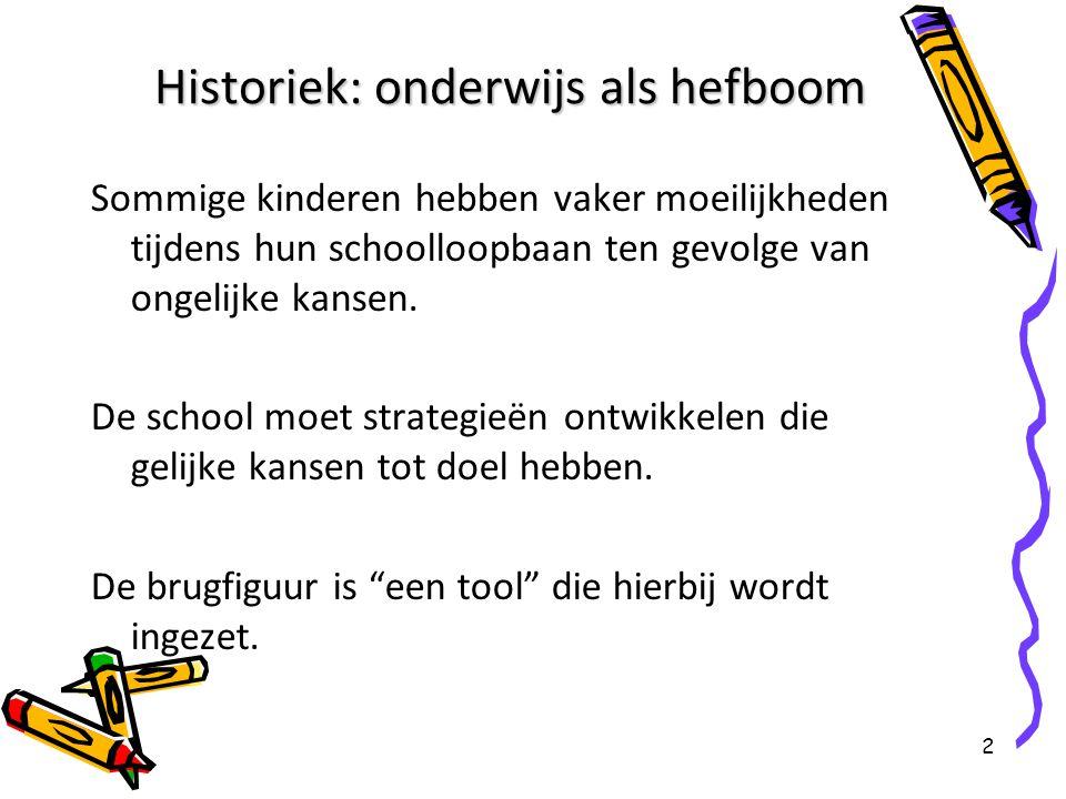 Historiek: onderwijs als hefboom