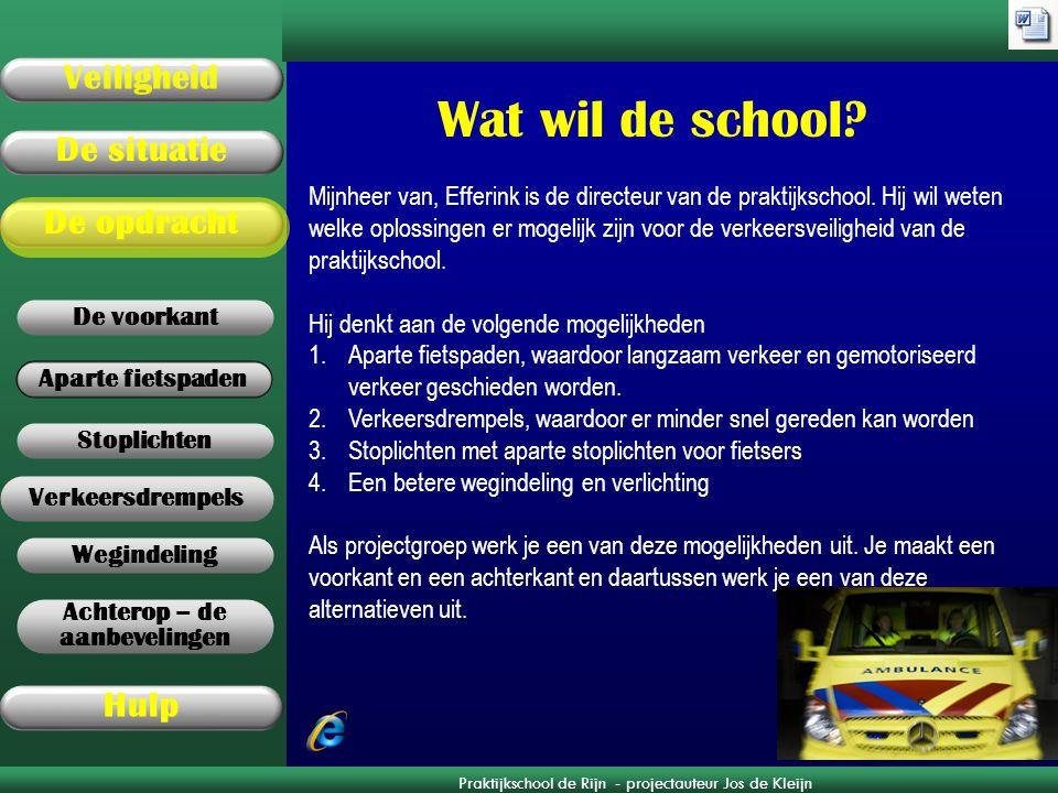 Wat wil de school