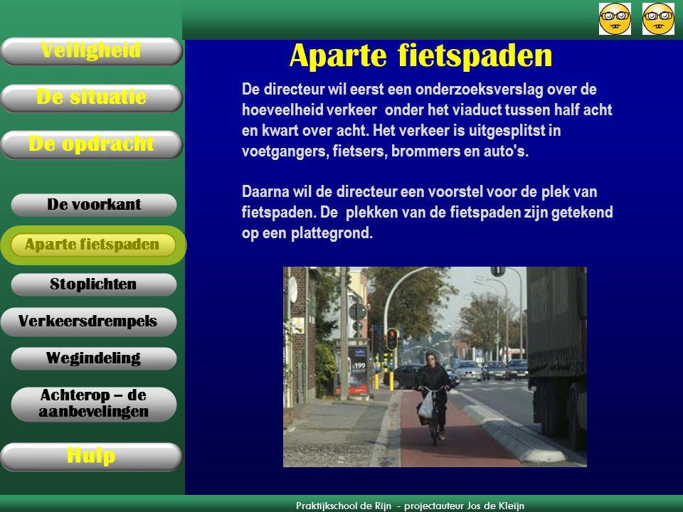 Aparte fietspaden