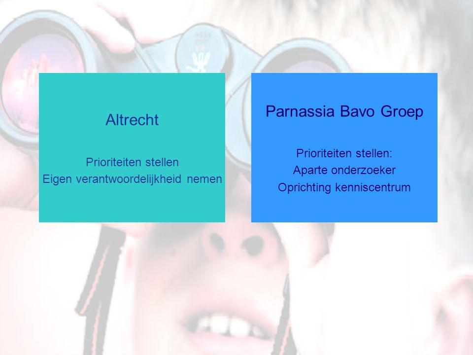 Parnassia Bavo Groep Altrecht Prioriteiten stellen: