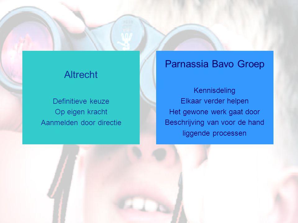 Parnassia Bavo Groep Altrecht Definitieve keuze Op eigen kracht
