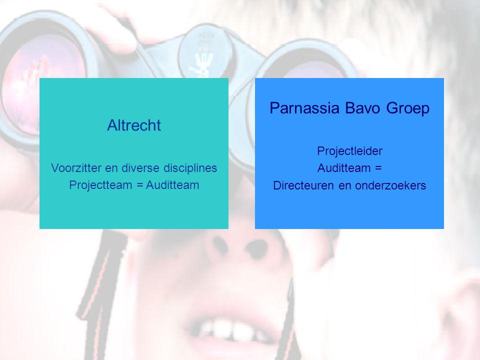 Parnassia Bavo Groep Altrecht Voorzitter en diverse disciplines