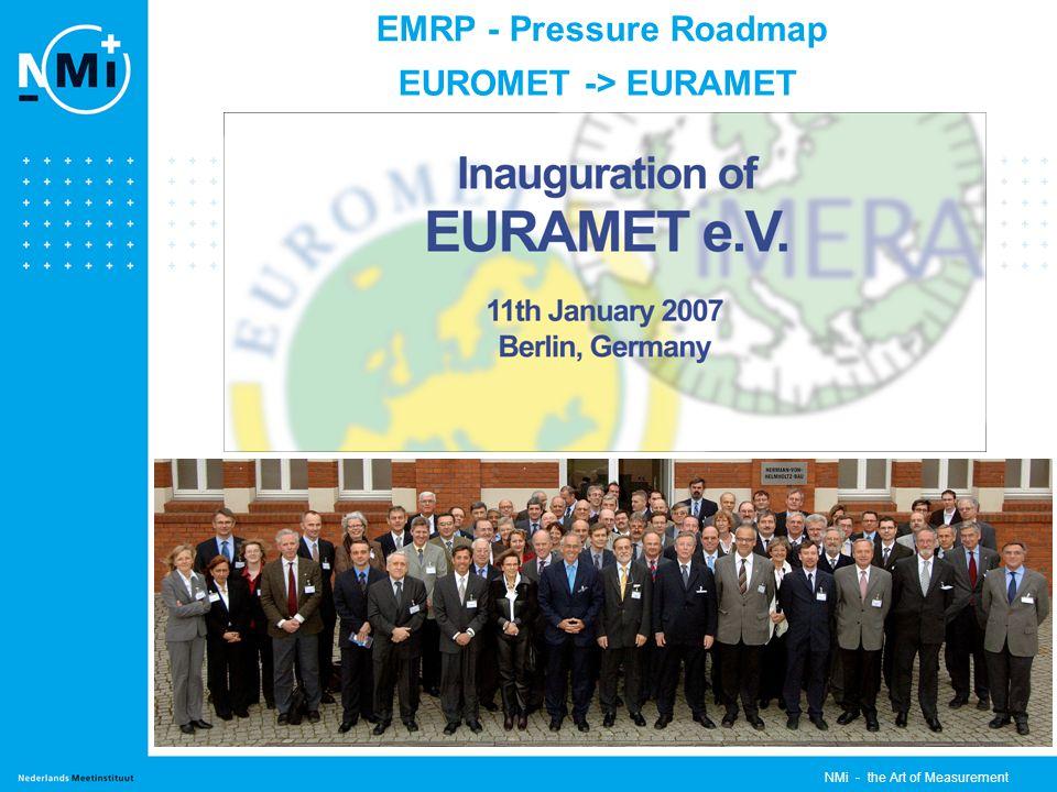 EMRP - Pressure Roadmap