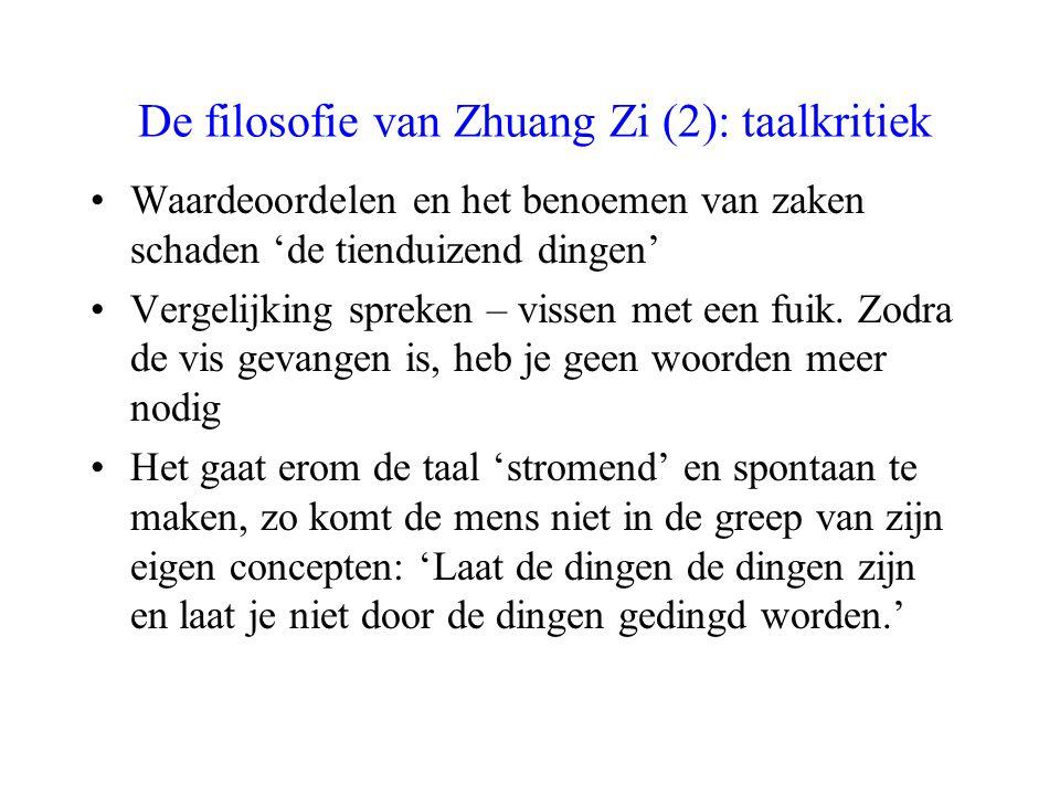 De filosofie van Zhuang Zi (2): taalkritiek