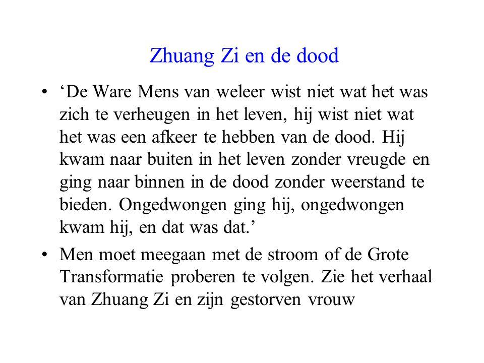 Zhuang Zi en de dood