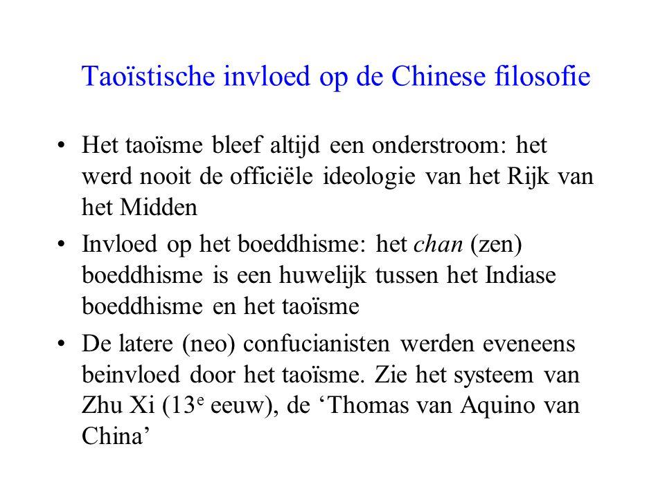 Taoïstische invloed op de Chinese filosofie