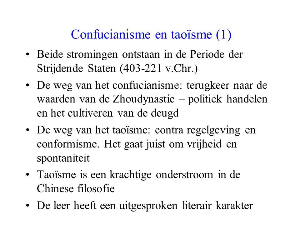 Confucianisme en taoïsme (1)