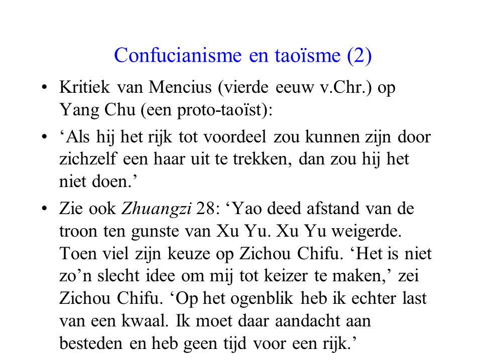 Confucianisme en taoïsme (2)