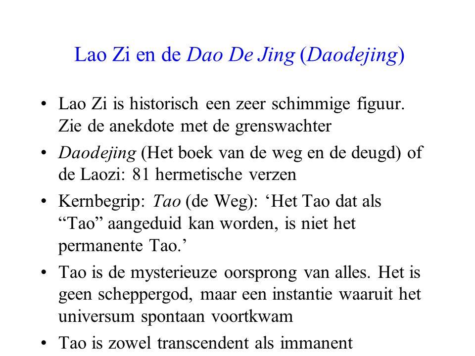Lao Zi en de Dao De Jing (Daodejing)
