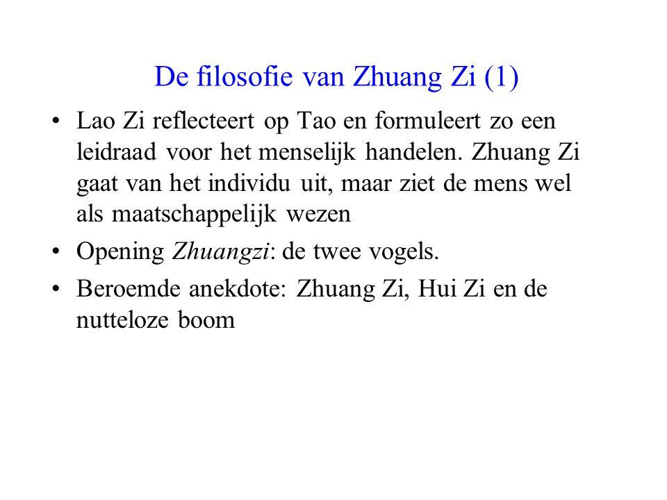De filosofie van Zhuang Zi (1)