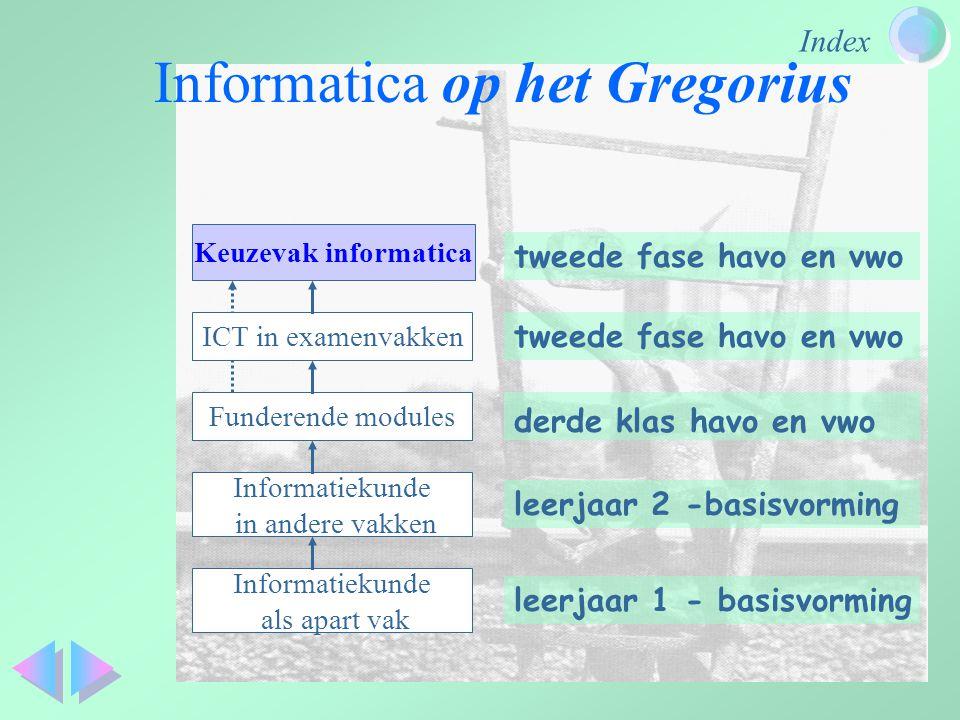 Informatica op het Gregorius