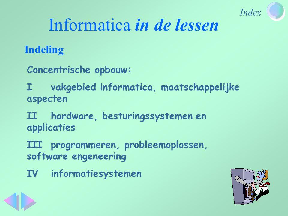 Informatica in de lessen