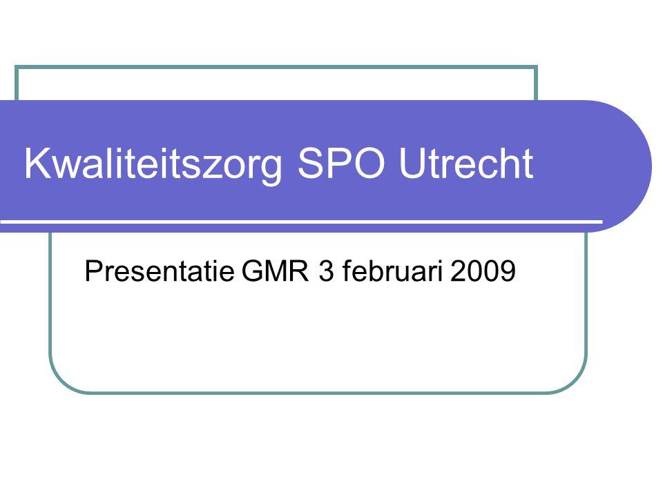 Kwaliteitszorg SPO Utrecht