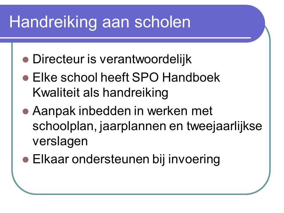 Handreiking aan scholen