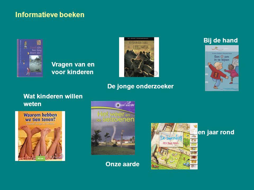 Informatieve boeken Bij de hand Vragen van en voor kinderen