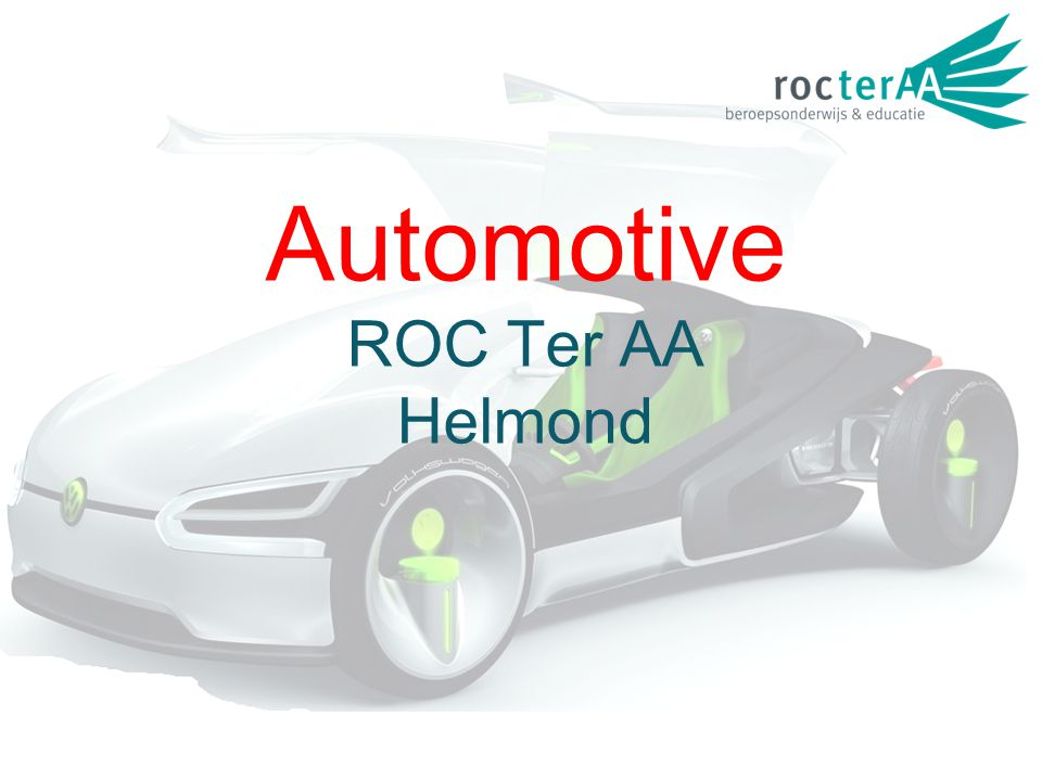 Automotive ROC Ter AA Helmond
