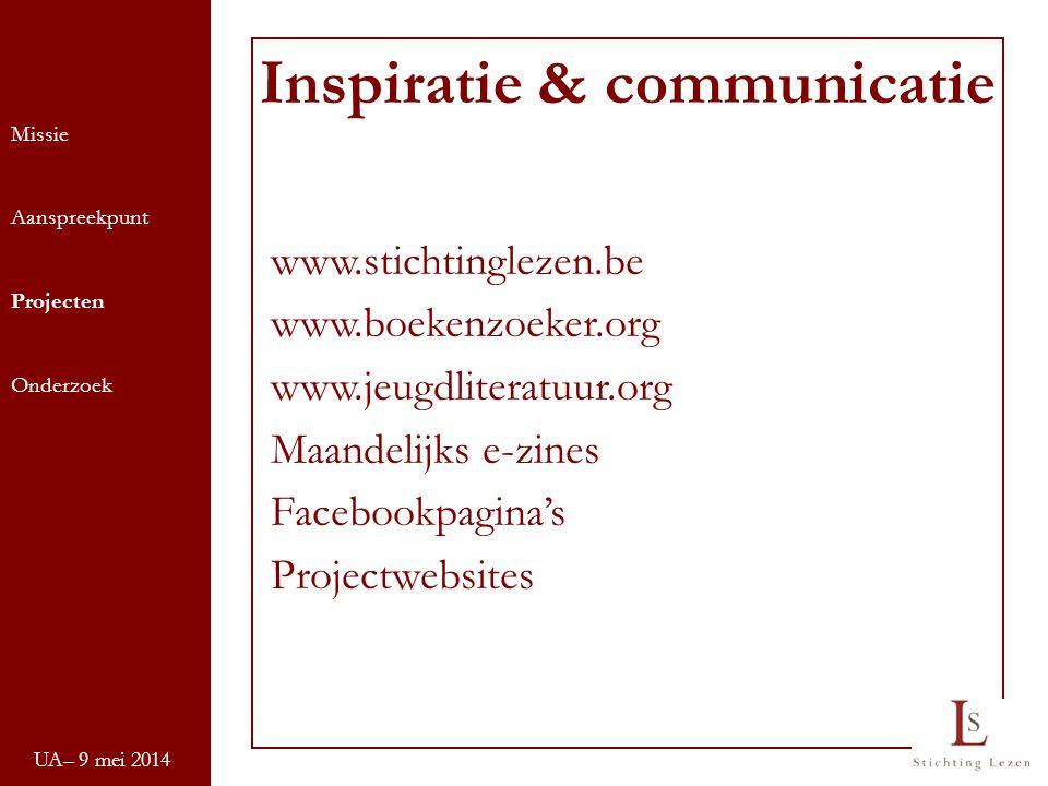 Inspiratie & communicatie