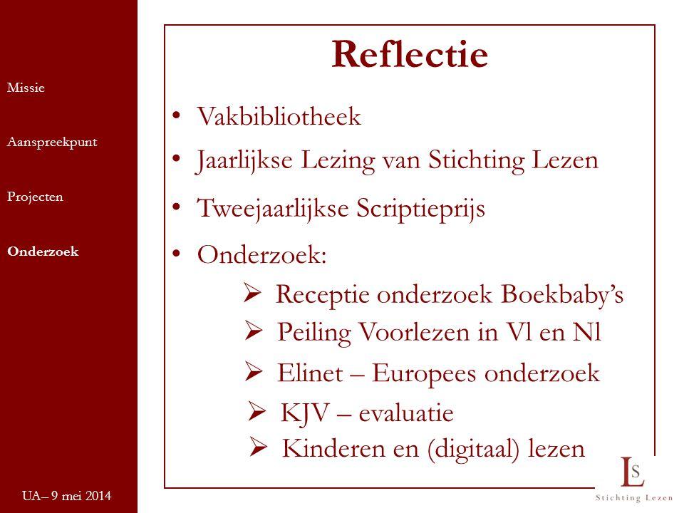 Reflectie Vakbibliotheek Jaarlijkse Lezing van Stichting Lezen