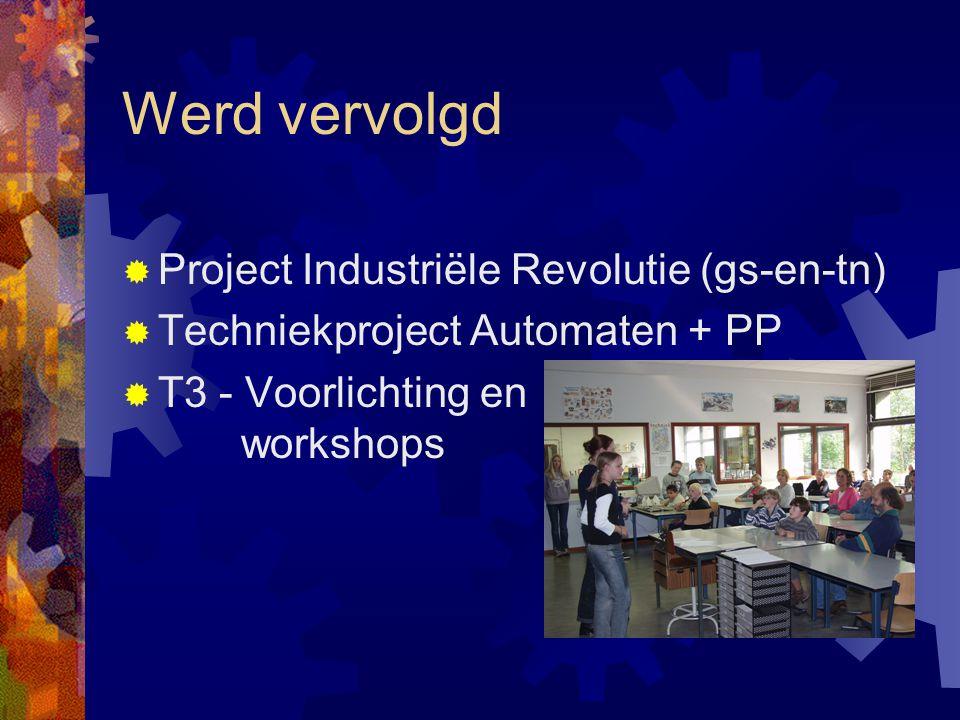 Werd vervolgd Project Industriële Revolutie (gs-en-tn)