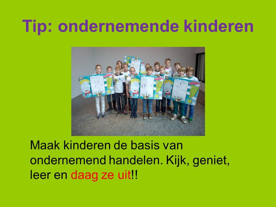 Tip: ondernemende kinderen