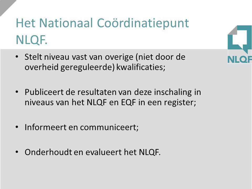 Het Nationaal Coördinatiepunt NLQF.