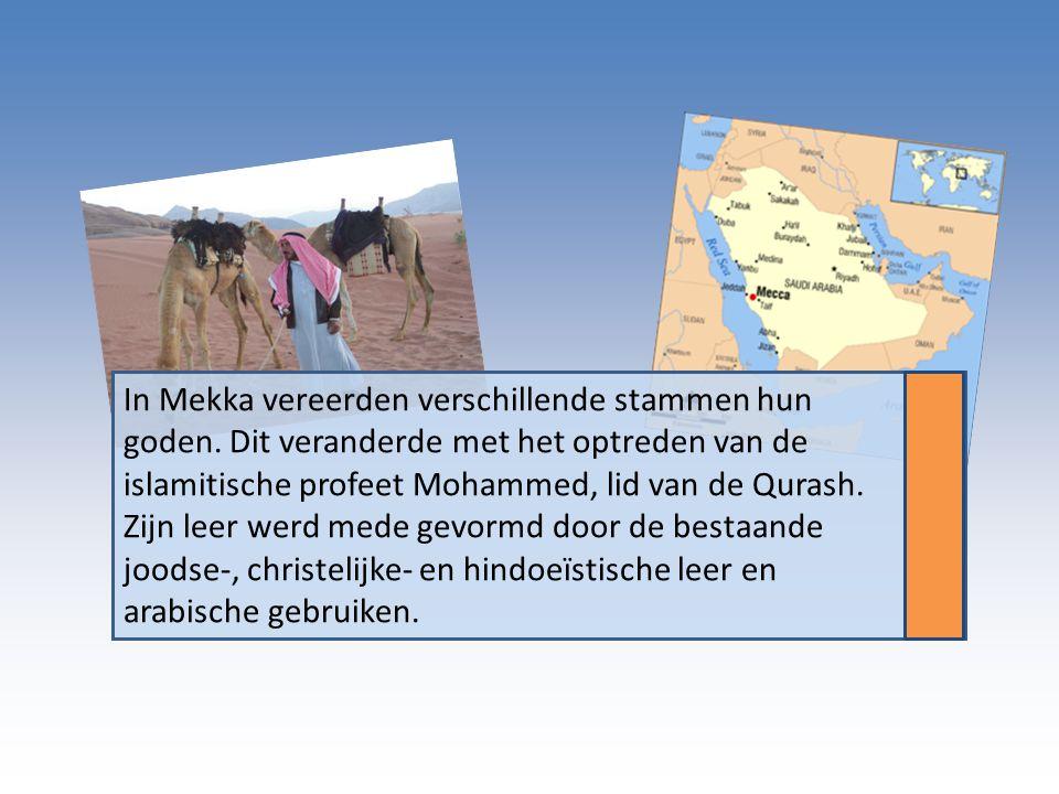 In Mekka vereerden verschillende stammen hun goden
