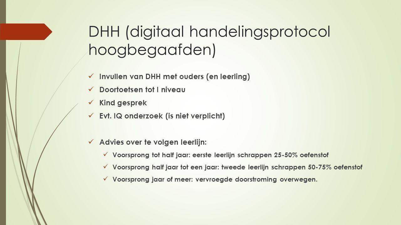DHH (digitaal handelingsprotocol hoogbegaafden)