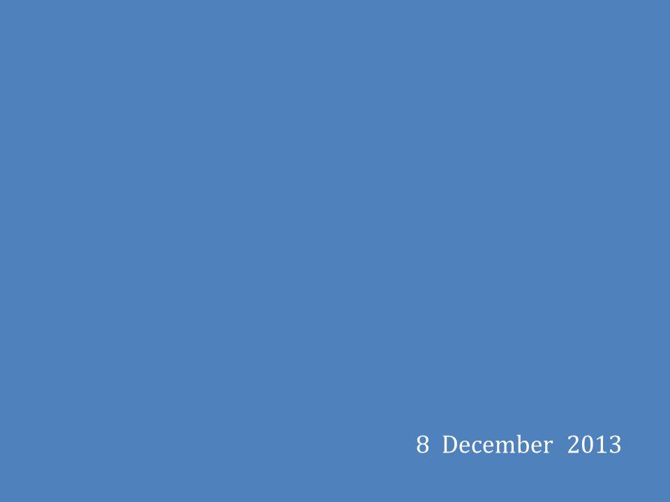 8 December 2013
