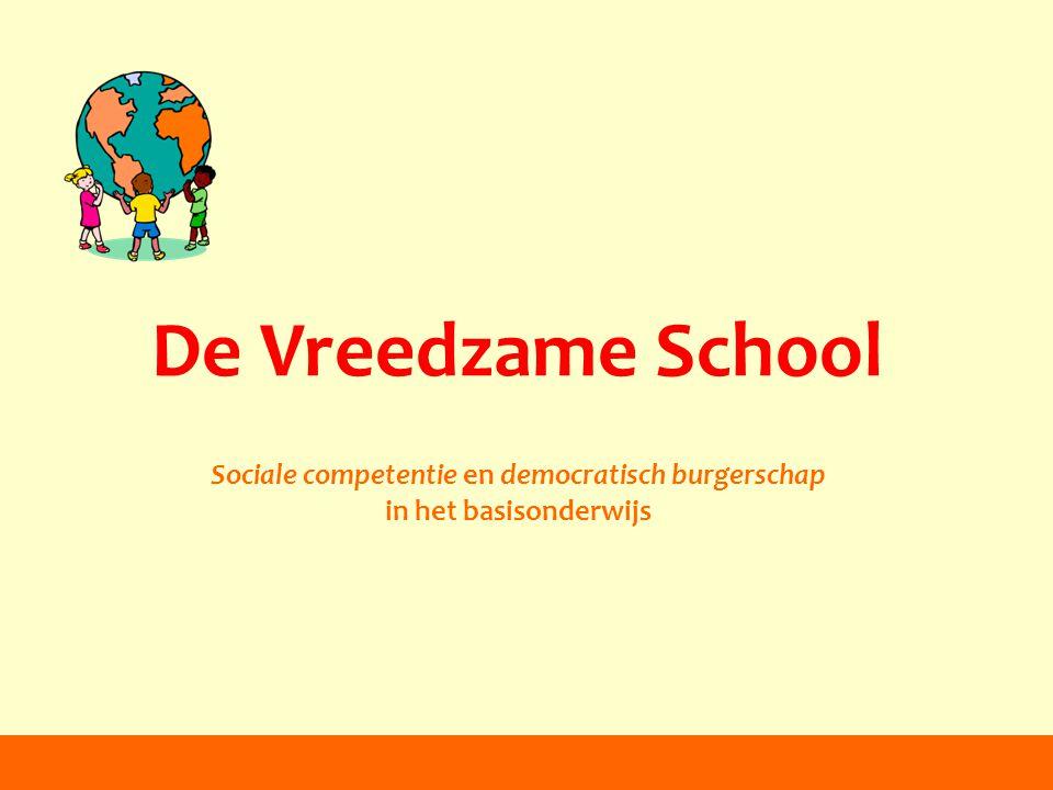 Sociale competentie en democratisch burgerschap
