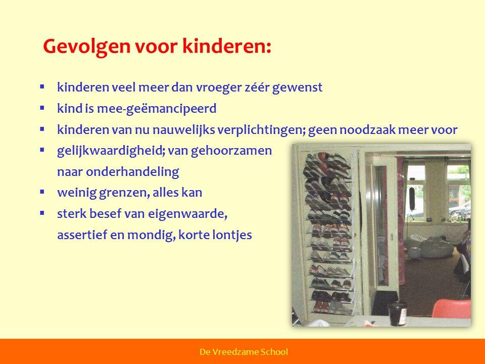 Gevolgen voor kinderen: