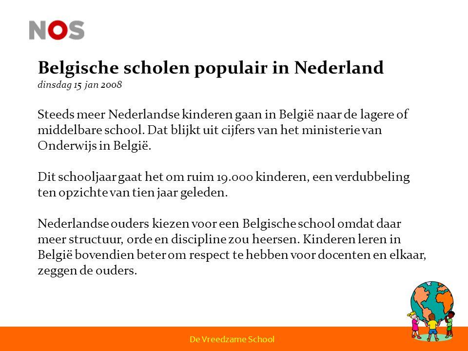 Belgische scholen populair in Nederland