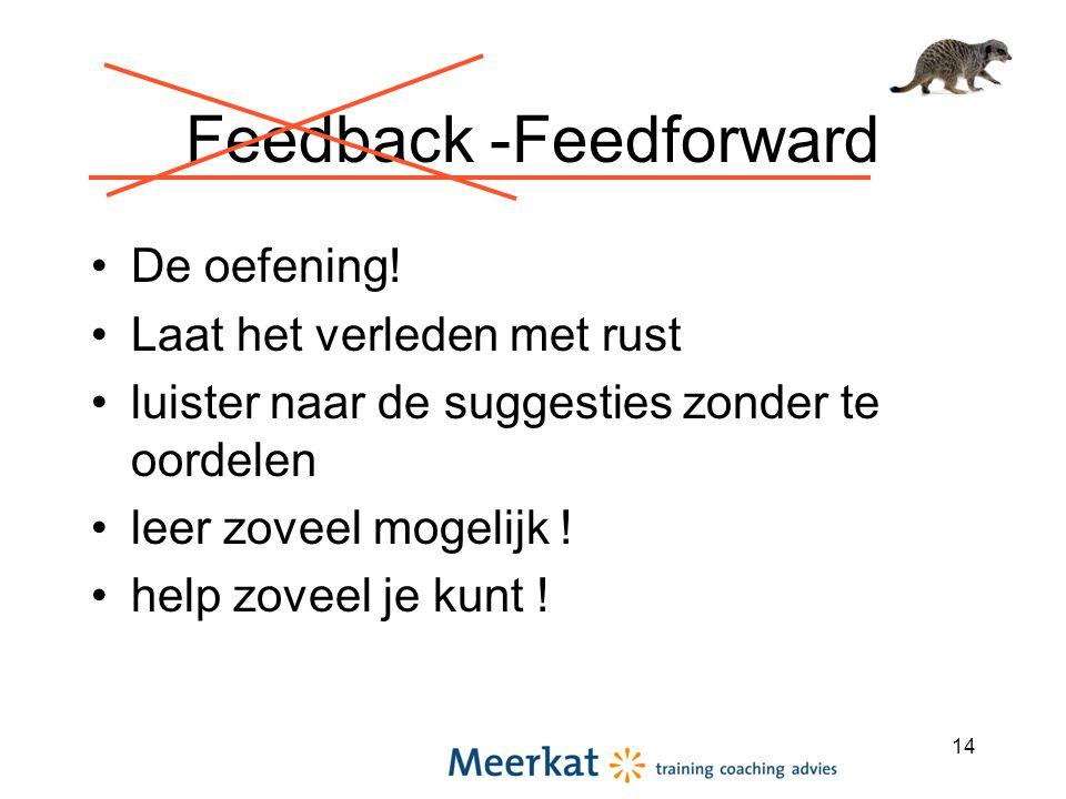 Feedback -Feedforward