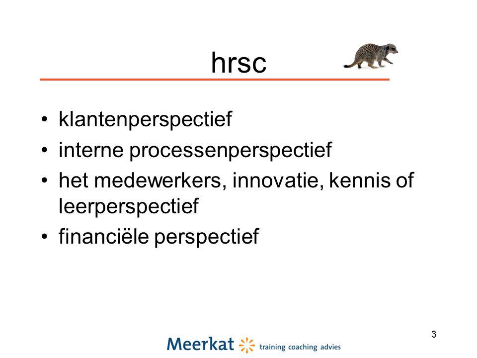 hrsc klantenperspectief interne processenperspectief