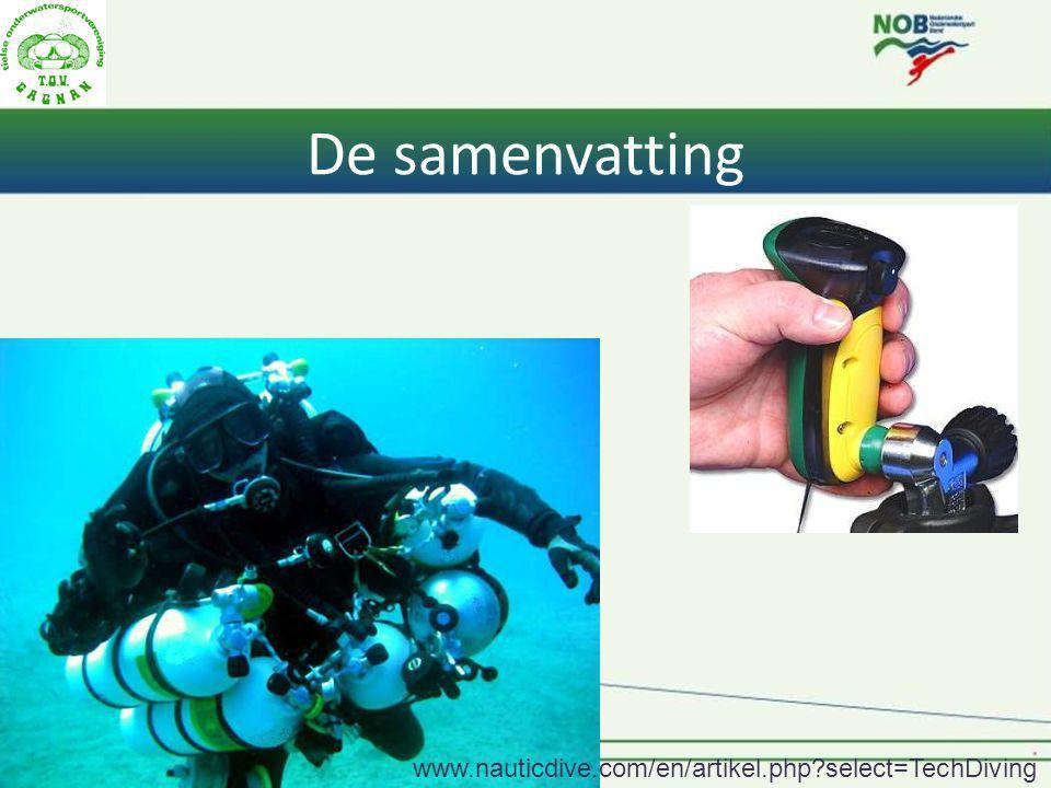 De samenvatting   select=TechDiving
