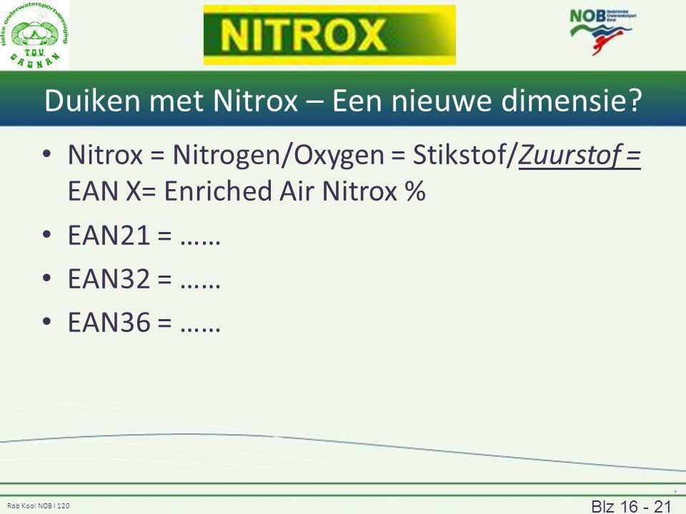 Duiken met Nitrox – Een nieuwe dimensie