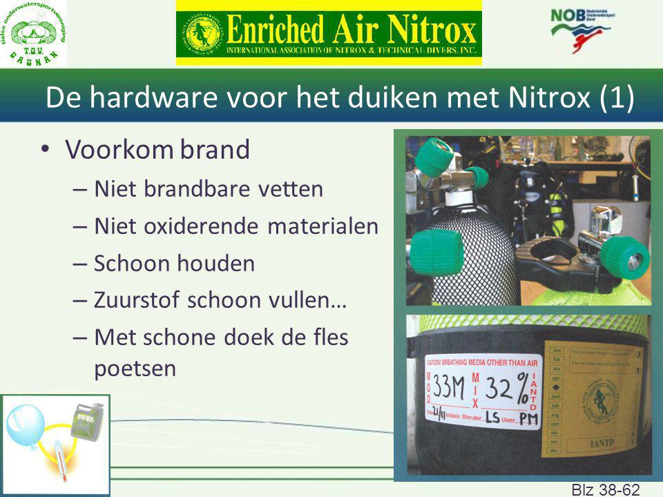 De hardware voor het duiken met Nitrox (1)
