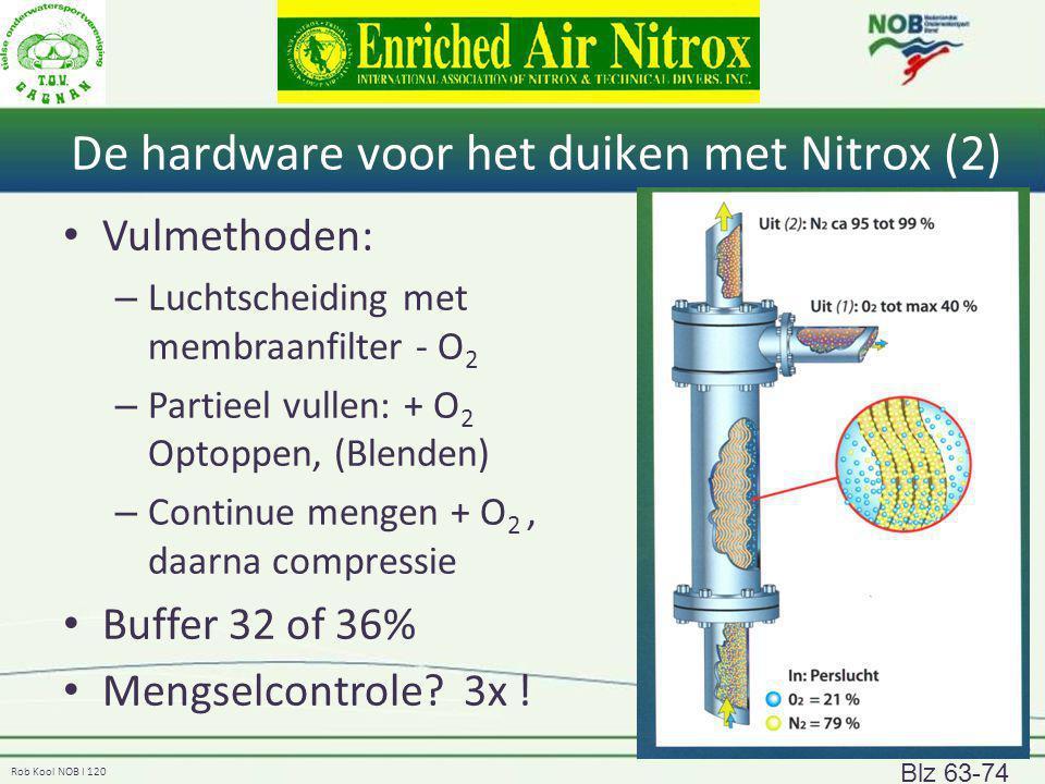 De hardware voor het duiken met Nitrox (2)