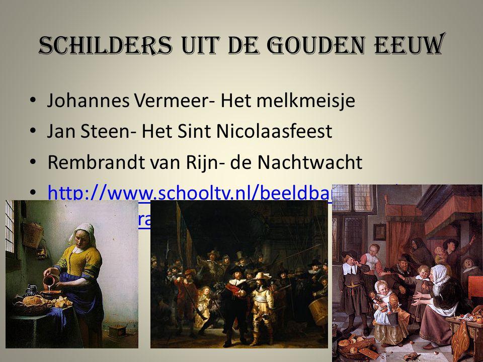 Schilders uit de gouden eeuw