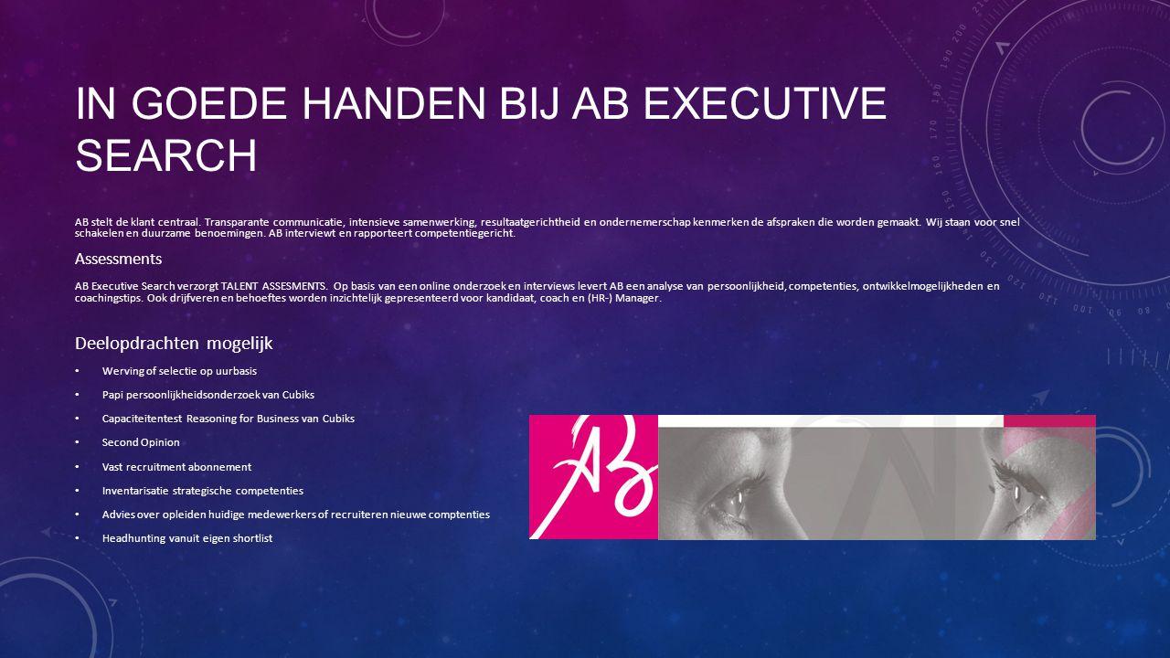 In goede handen bij AB Executive Search