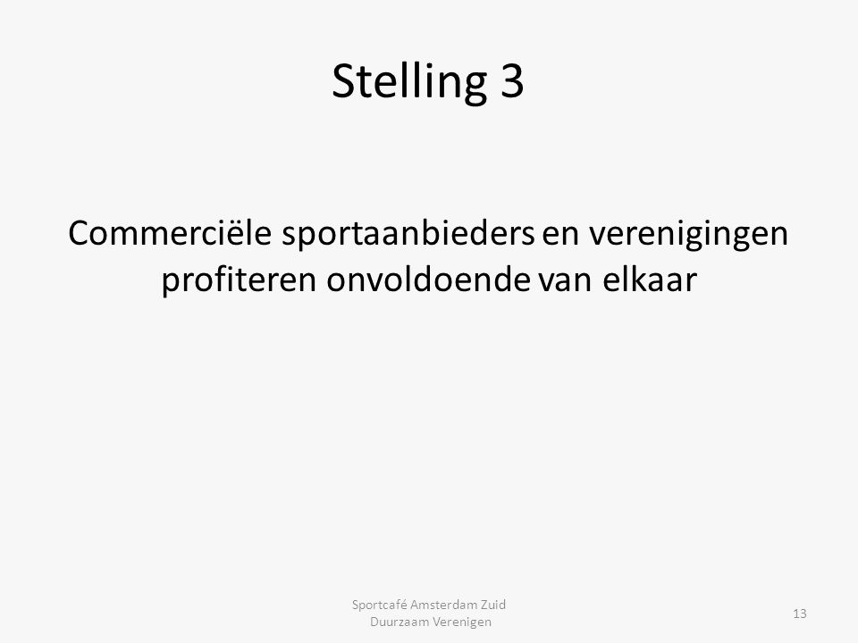Sportcafé Amsterdam Zuid
