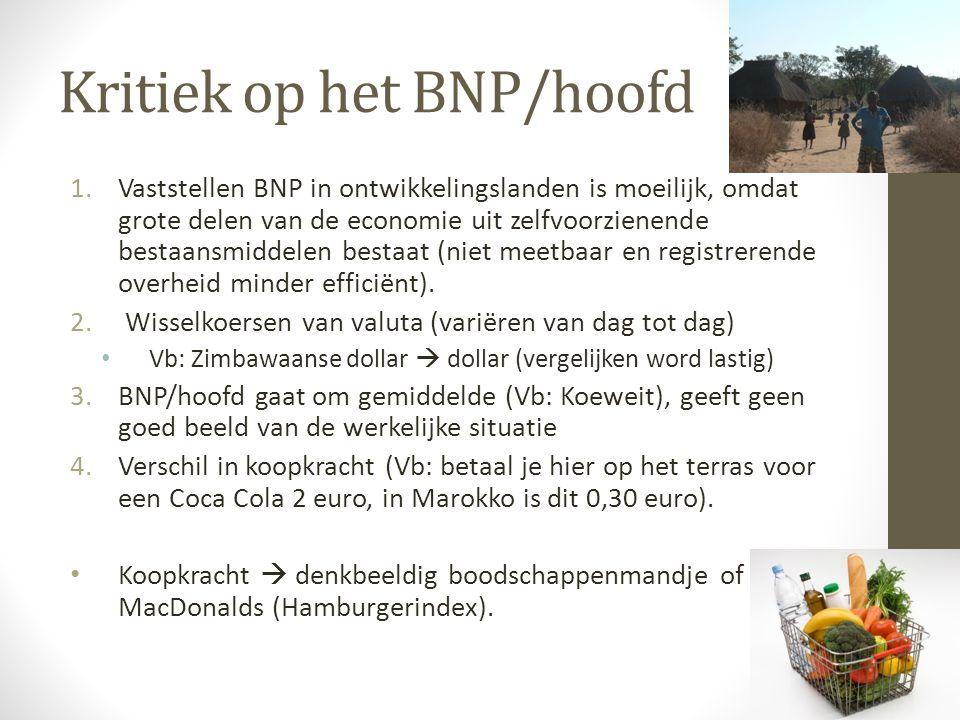 Kritiek op het BNP/hoofd